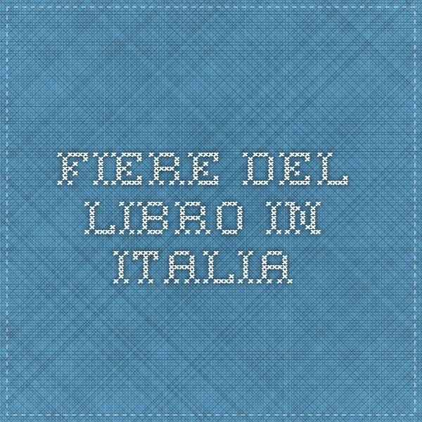 Fiere del Libro in Italia