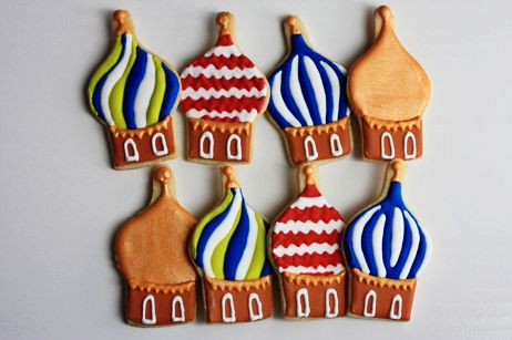 Russian Onion Dome Cookies by Jennifer @ Not Your Momma's Cookie.  Repinned by www.mygrowingtraditions.com