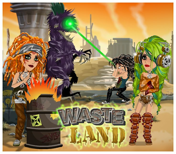Waste Land Weekly theme on MovieStarPlanet! www.moviestarplanet.com