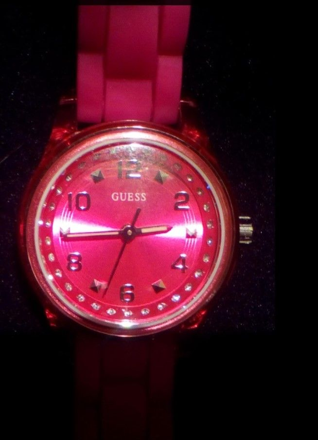 Guess W65023L3 Ladies Sport MICRO MINI Pink Watch