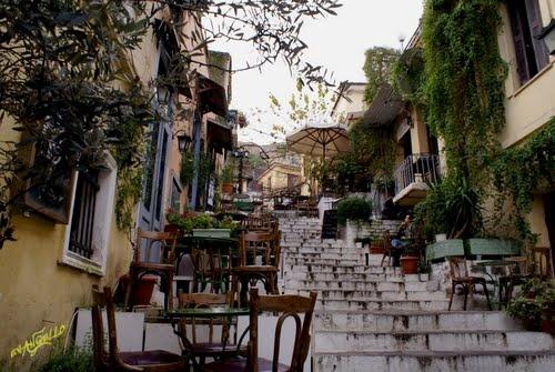 Jasmine: a famous coffee shop.. athens