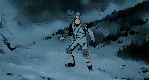 Kakashi vs. snow ninja ~ Naruto: Ninja Clash in the Land of Snow