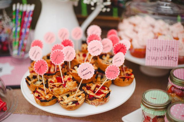 Country Fair Birthday Party Desserts - Project Nursery: Birthday Parties Desserts, Birthday Party Desserts, Fair Birthday, C S Birthday