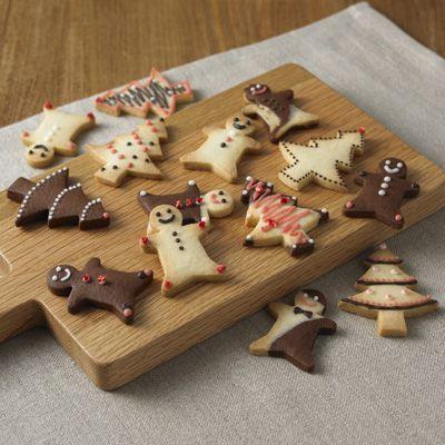 Muji  Everything is so cute! 自分でつくる 型を抜いて楽しむクッキー 約20個分 | 無印良品ネットストア