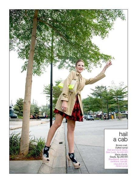"Fashion Spread October Issue ""Fashion Tribute To Gossip Girl"""