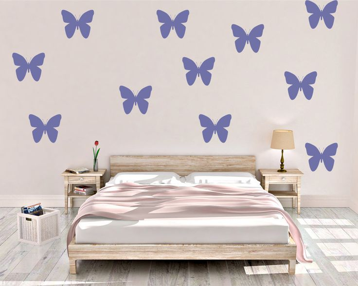 Butterfly Wall Decals - Butterfly Decal - Vinyl Wall Decal - Butterfly -  Wall Decal - Decal - Butterfly Wall Decor - Butterfly Home Decor