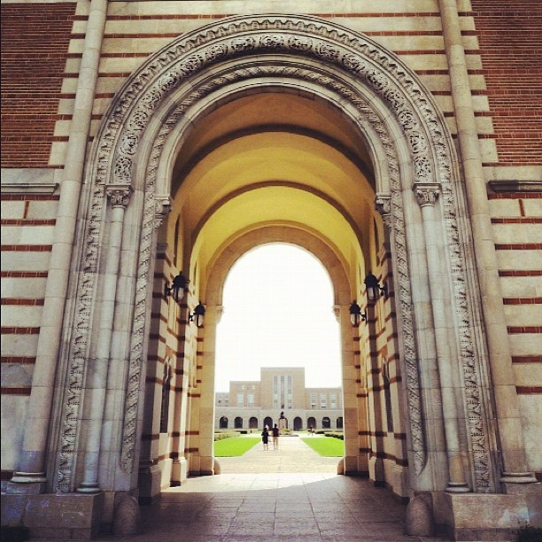 Rice University archway #houston by chotda, via Flickr