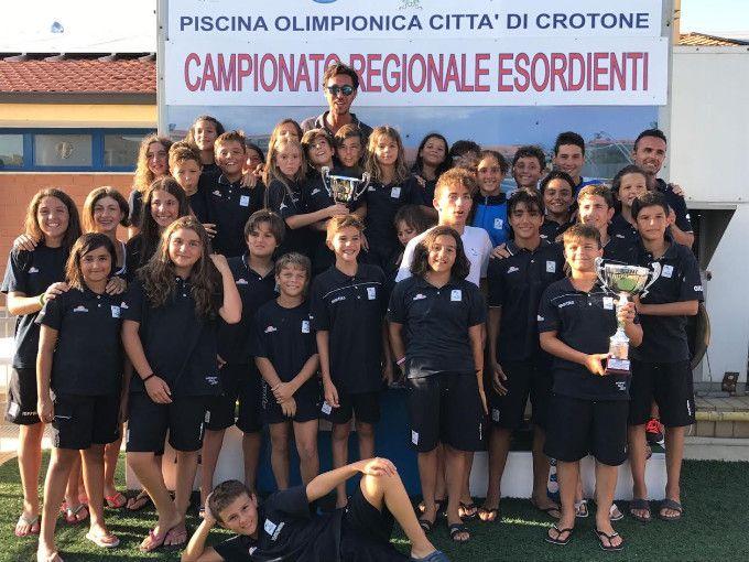 """Campionato Regionale Esordienti """"A"""" e """"B"""" nella Piscina Olimpionica di Crotone - I numeri della manifestazione sono stati importanti: ben 17 le società partecipanti per un totale di 213 atleti e ben 856 presenze gara  - http://www.ilcirotano.it/2017/07/06/campionato-regionale-esordienti-a-e-b-nella-piscina-olimpionica-di-crotone/"""