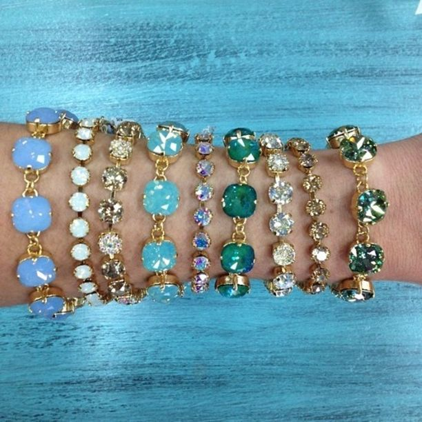 Have you see our HUGE collection of Victoria Lynn jewelry?! These pieces are a must-have! Victoria Lynn Bracelets and Earrings - We currently are carrying a large variety of gorgeous Victoria Lynn Bracelets and Earrings! Stop by the Wharf store or call for more details! - $Varies