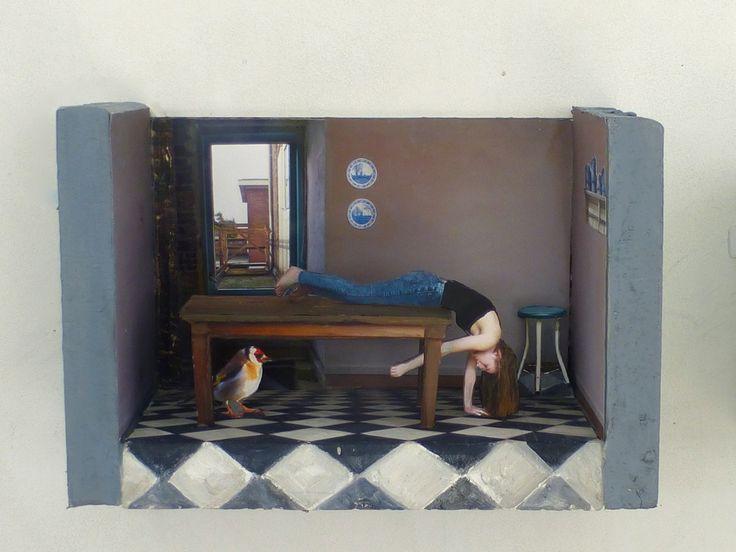 Marit Dik  |  Make my day - the kitchen, 2014, 3D-collage www.maritdik.nl