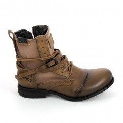 BUNKER Boots Horma Sara Beige