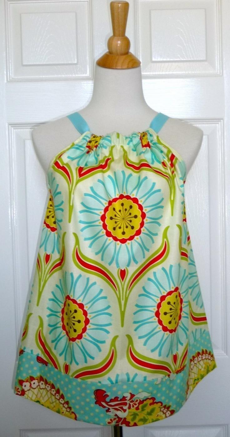 DIY KIT - Women - Pillowcase TOP - Heather Bailey - Popgarden - Pick the size & 20 best Pillowcase Tops images on Pinterest | Pillowcase dresses ... pillowsntoast.com