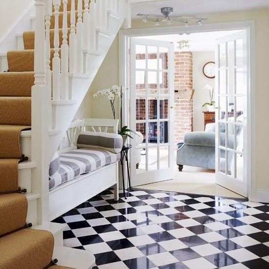 Stylish entrance hall   Take a tour around a period-style cottage   PHOTO GALLERY   housetohome   housetohome.co.uk