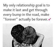 My Only Relationship Goal