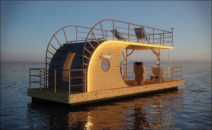 Плавучие дома для современного образа жизни