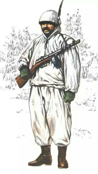 Italian Alpino.with soviet PPSH submachine, eastern front WW2, pin by Paolo Marzioli