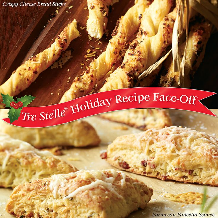 It's week two of our special holiday contest!   Vote on your favourite Tre Stelle Parmigiano Reggiano recipe for your chance to #win $25 in Tre Stelle grocery vouchers! Click on the image to enter!