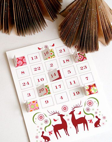 Advent Calendar Download DIY
