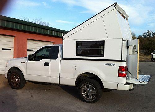 Diy Camper Pickup Camper Truck Topper Camping Pickup