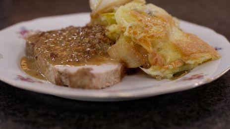 Eén - Dagelijkse kost - varkensgebraad met gegratineerde aardappelen | Eén