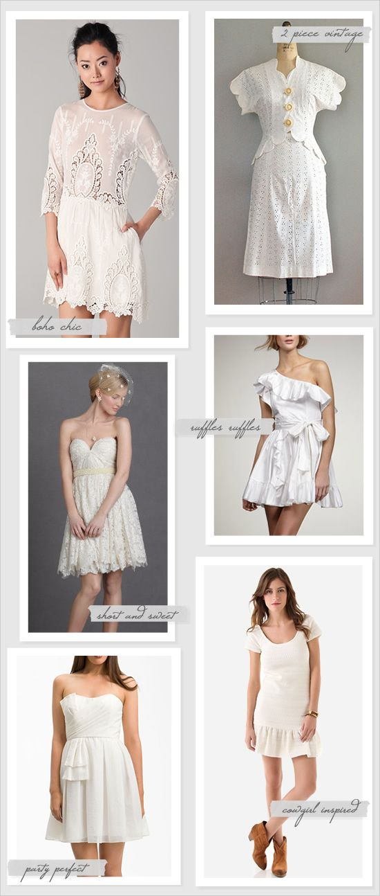 Lovely Wedding Reception Dresses