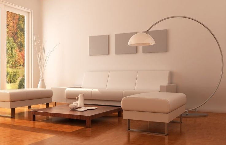 Arc lamps in modern design  A real eye-catcher: the modern arc lamp.
