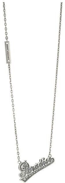 Marc Jacobs Charms Paradise Paradise Nameplate Pendant Necklace Necklace