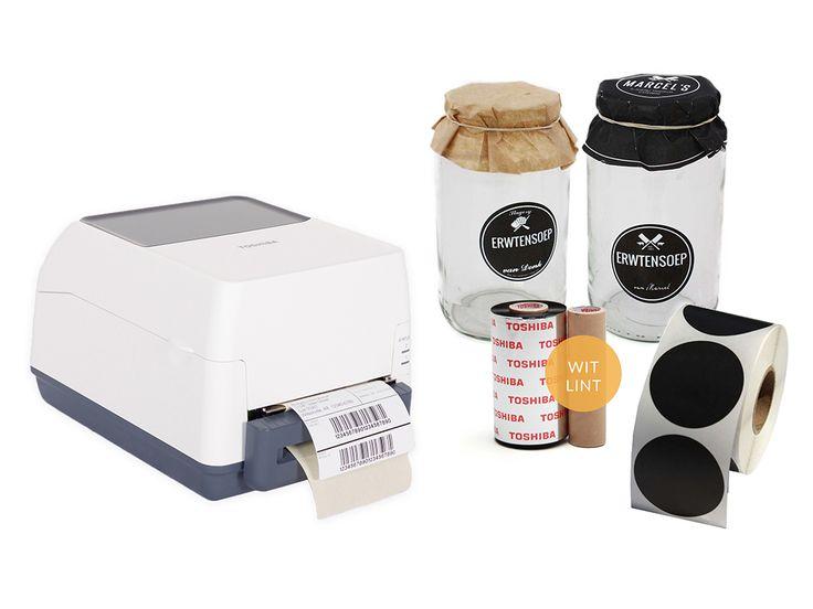 Geef uw producten meerwaarde met een duidelijk etiket, gevuld met uw eigen tekst.  Wij bieden alle benodigdheden voor het maken van uw gepersonaliseerde etiketten. Deze kunt u bijvoorbeeld gebruiken voor op uw potten.