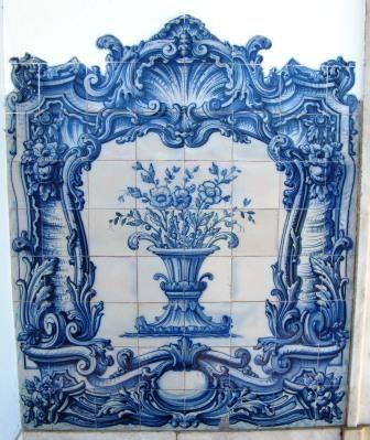 Azulejo português tradicional