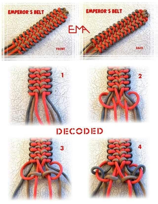 Decoded Paracord Bracelet .