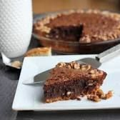 Image result for giada brownie walnut pie