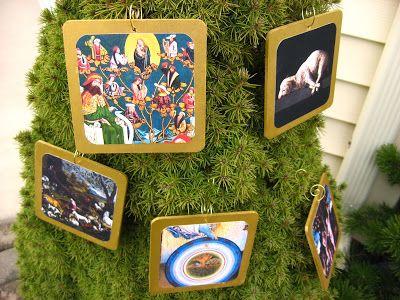 Printable Fine Art Jesse Tree Advent Ornaments -- The Pious Sodality ...