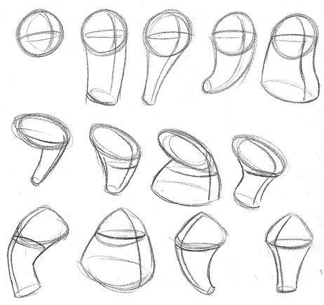drawing cartoons using basic shapes - Google zoeken