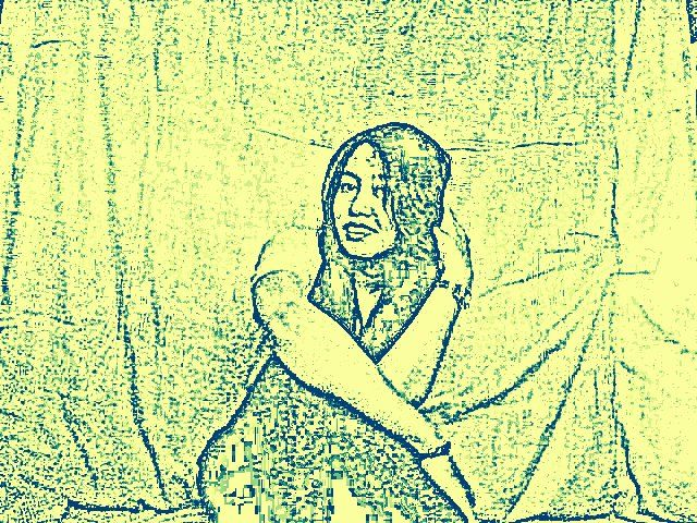 yellow karikatur