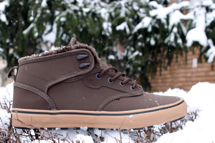 Globe Motley Mid Brown/Brown Fur #Globe #Globeshoes #Motley-Mid #Fur #BMXMagazin