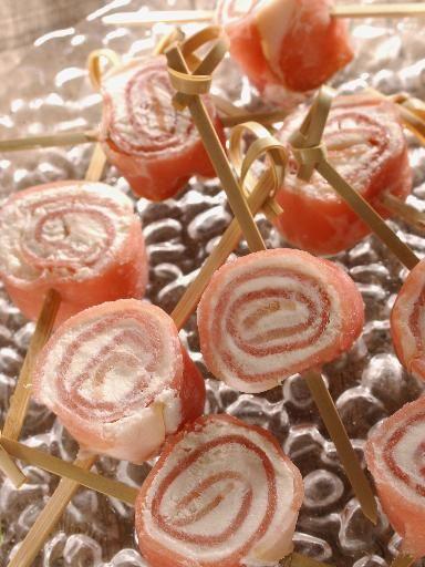 Recette Petits roulés de jambon au fromage, notre recette Petits roulés de jambon au fromage - aufeminin.com