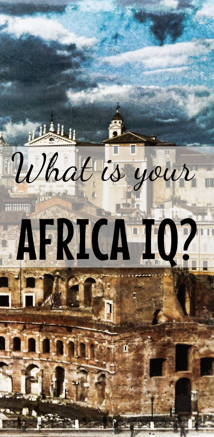 Find out how much you know about Africa by this Africa Quiz.