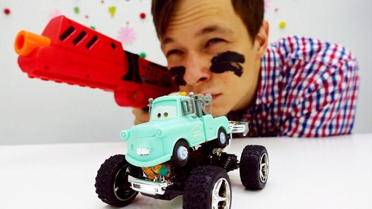 Машинки для мальчиков: мультфильм Тачки. Видео про игрушки: Фёдор и Мэтр...