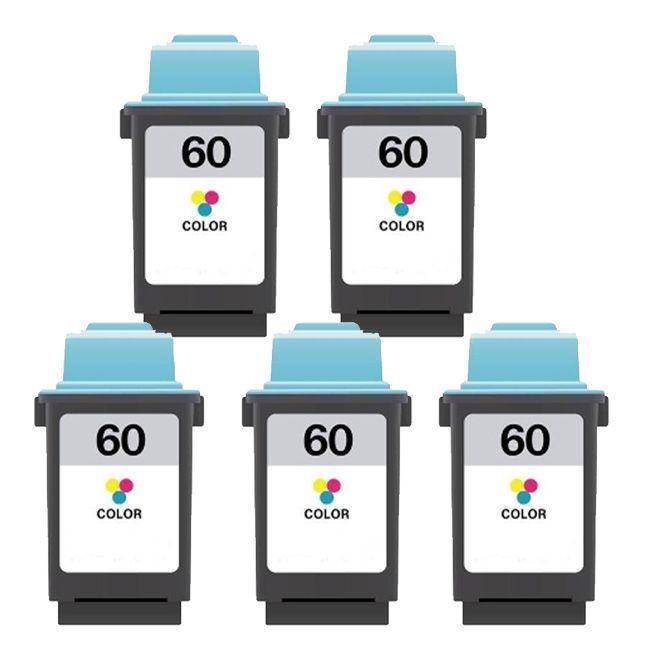 N Lexmark 60 Color Compatible Ink Cartridges