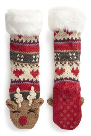 21 best Reindeer socks images on Pinterest | Reindeer, Sock ...