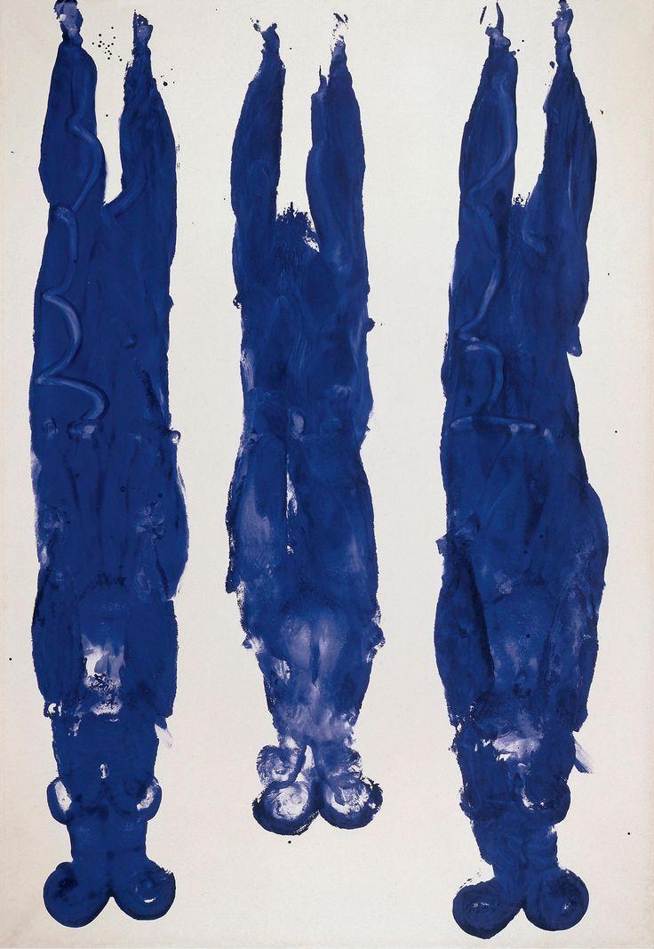 Alberto Giacometti / Yves Klein review – one master, one mad genius