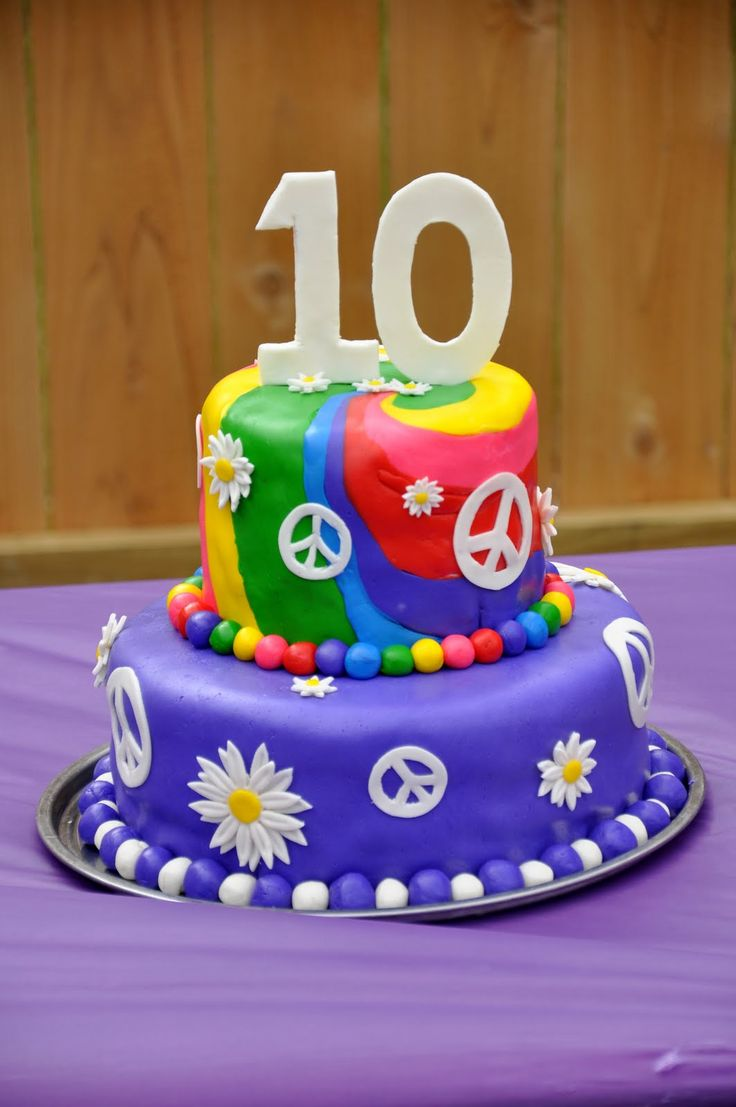 Image result for 10th Birthday Cakes For Girls