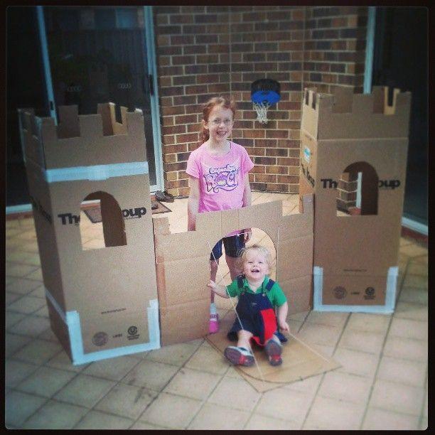 How To Make A Kids Cardboard Castle