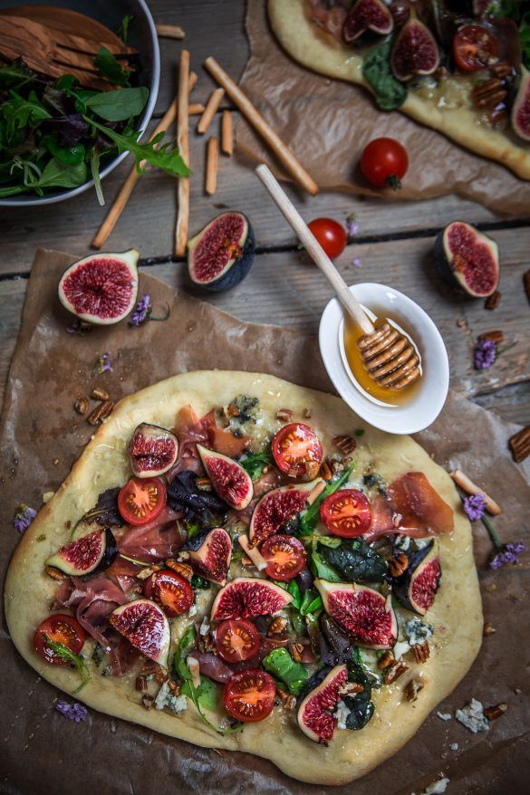 Pizza jambon de parme et figues – Cuisine moi un mouton