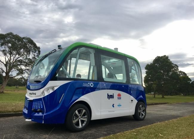 A DRIVERLESS bus carrying passengers is set to take to NSW roads for the first time.