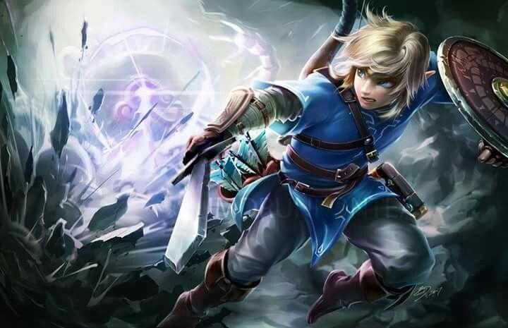 Link Tloz Breath Of The Wild Legend Of Zelda Breath Legend