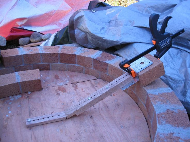 Adjustable indispensable tool ellipse dome - Forno Bravo Forum: The Wood-Fired Oven Community
