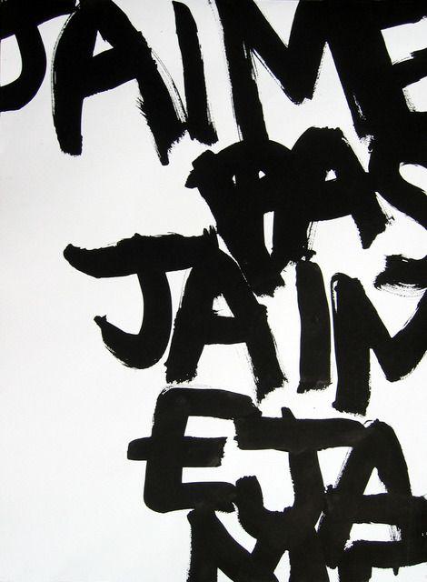 Agathe de Bailliencourt, 'J'aime-J'aime pas GL1,' 2005, Art Plural Gallery