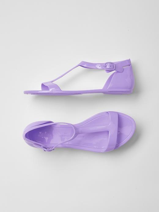 GAP Kids Girls Size 11 US Youth Purple Jelly Sandals Flats Water Beach Shoes  | eBay