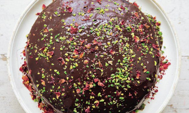 Simply Nigella: Dark and sumptuous chocolate cake